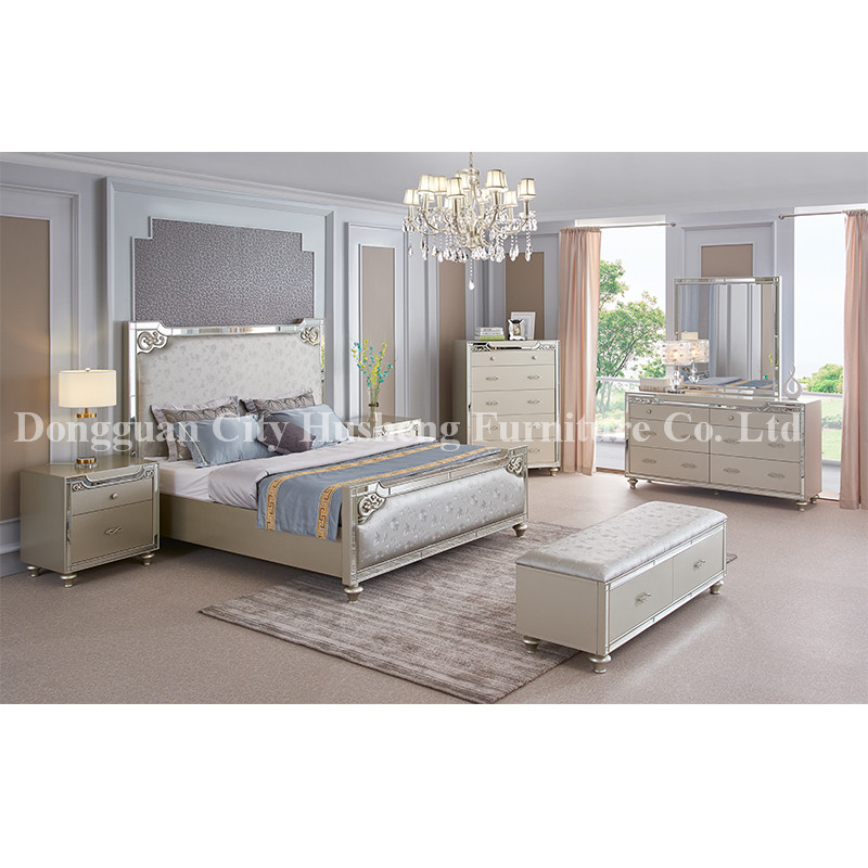 Best Seller Bedroom Furniture with Modern Design  and king size Made in China